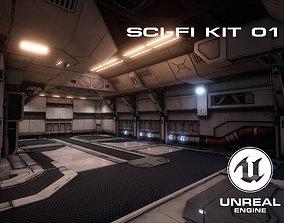 Sci-Fi Environment Kit 01 3D asset