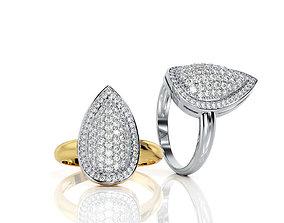 Pear Ring R F 0100 3D printable model