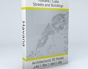 Havana Streets and Buildings 3D model