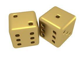 3D model A free pair of multi-purpose dices