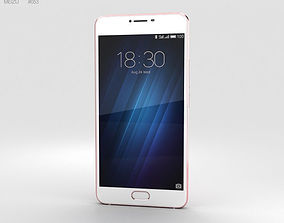 3D Meizu U20 Rose Gold
