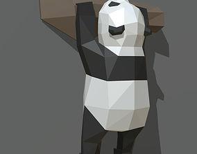 panda figure 3 3D printable model figurine
