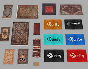 3D asset Rugs and Mats Pack