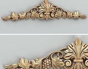 3D Carved decor horizontal 032