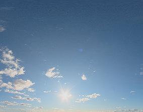 Skydome HDRI - Sunset Clouds VI 3D model