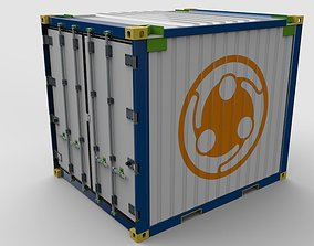 Offshore Refrigerated Container 3D