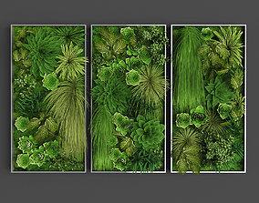 Vertical gardening 011 3D model