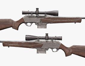 3D asset BAR MK3 Sniper Rifle