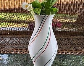 Flower pot 3D printable model rose