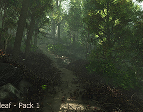 3D Trees - Pack 1