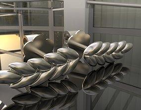 Earring spikelet 3D printable model