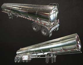 3D model Fuel Tank Trailer