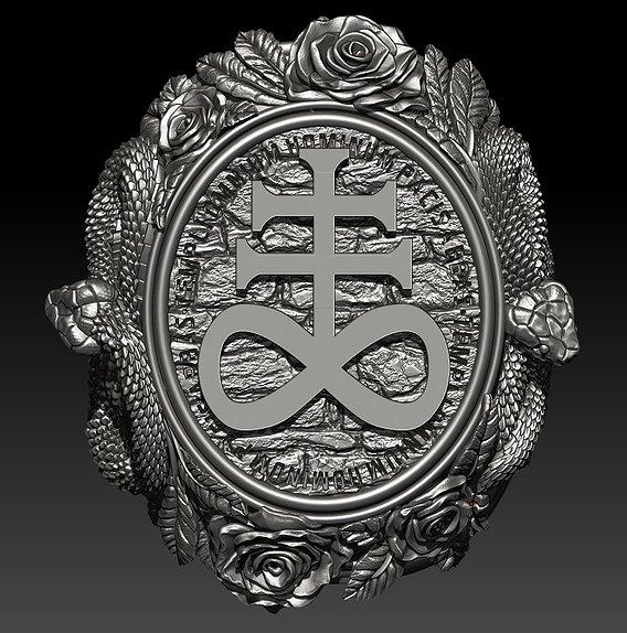 Ring «Templi omnium hominum pacis abbas»