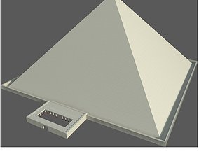 3D asset Pyramid of Cheops