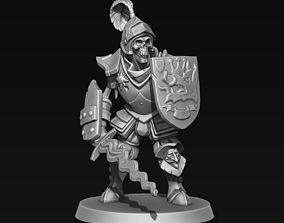 3D printable model Skeleton Warrior