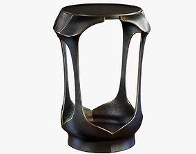 3D model Holly Hunt FORSYTH SIDE TABLE