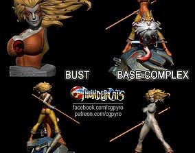 Thundercats Cheetara STL for 3D printing Fanart Term 25 1