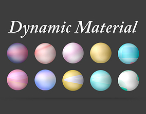 3D C4D Dynamic Material