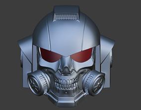 3D print model Custom Space Marine Helmet for cosplay