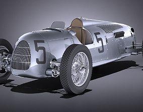 Auto Union Type C 1936 Race Car 3D model