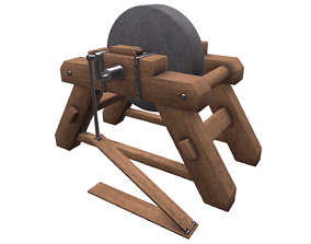 Grinding Wheel 3D model