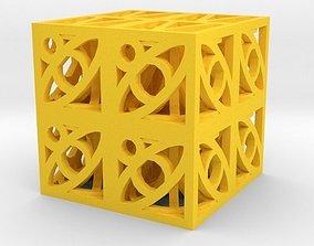 3D printable model Dice art games