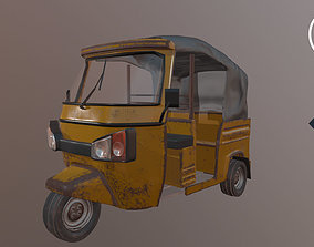 Tricycle Taxi vehicle 3D model