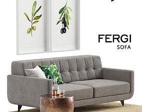 3D model FERGI Sofa