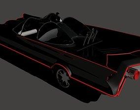 3D model Batmobile 1960
