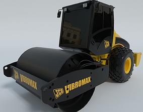 vehicle 3D JCB VM115 compactor