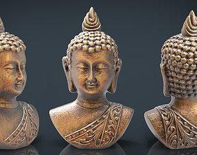 3D asset Cooper buddha head