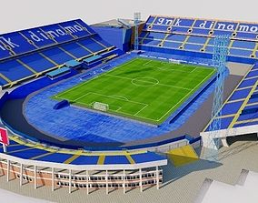 Stadion Maksimir - Zagreb Croatia 3D asset