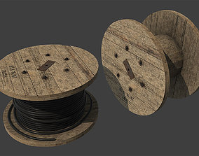 3D model Cable Coil
