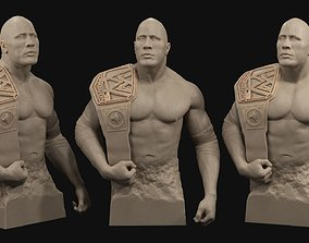 Dwayne The Rock Johnson 3D print model