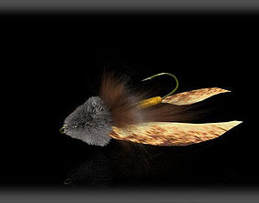 fly fishing fly 3D