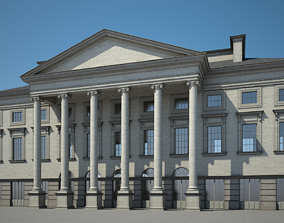 City Hall library 3D model