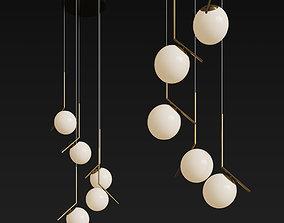 3D Flos Ic Light Cluster