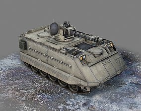 USA Army M163 Tracked Air Defense Vehicle 3D model