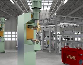 3D Platoon welding machine