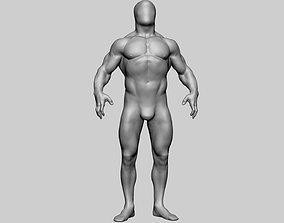 3D Base Male Anatomy v2