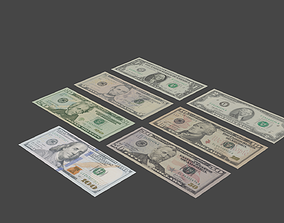 Modern US Currency 3D