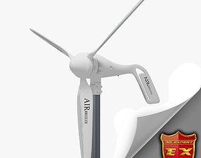 Wind turbine small 3D model