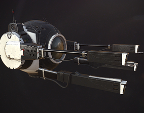 Flying Drone Turret 3D model