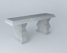 3D Bench Maisons du monde
