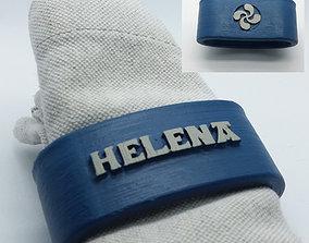 3D print model HELENA Napkin Ring with lauburu
