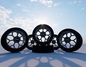 wheel cub 3D asset
