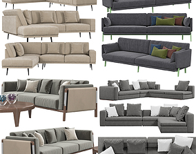 3D Sofas collection 3