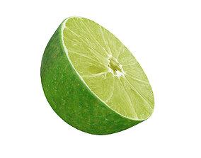 juicy Lime half 3D model