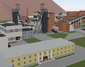 3D model Shachta Komsomolskaya g Kopejska