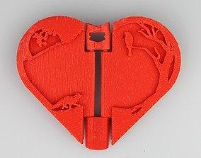 Lovers Photo Frame 3D print model